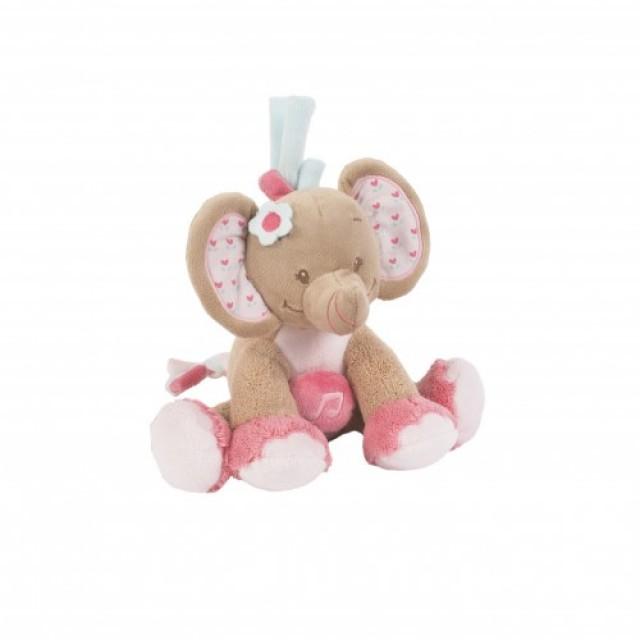 Mini musical elefante Charlotte & Rose'