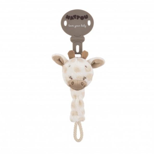 Sujetachupetes girafa  Charlotte & Rose'