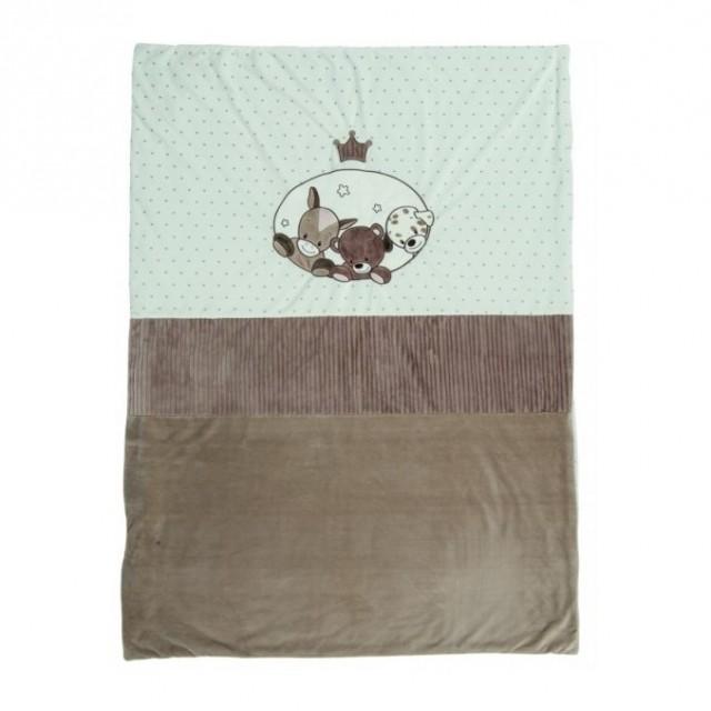 Manta 100 X 135 Cm Crown'