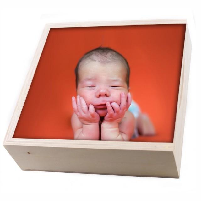 Premium wood box'