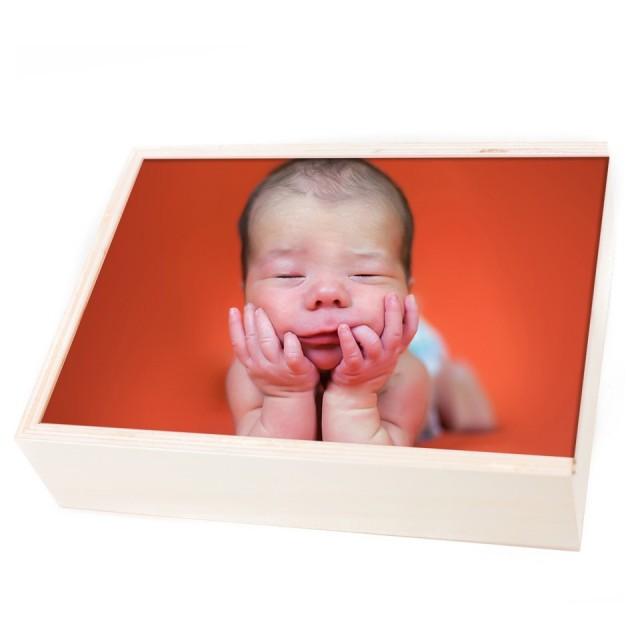 Wood box'
