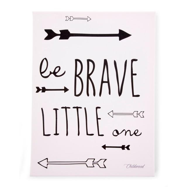 Pintura Óleo - Be Brave Little One '