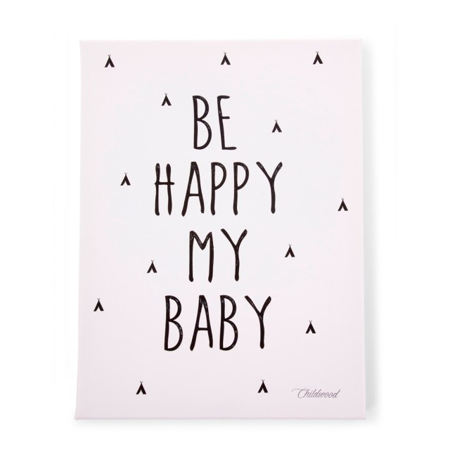 Pintura Óleo - Be Happy My Baby '