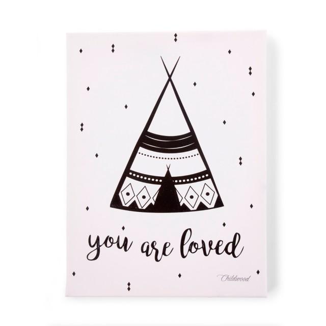 Pintura Óleo - You are loved '